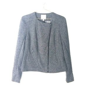 Catherine malandrino grey jacket large